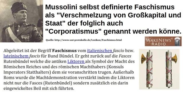 Faschismus-Definitionen