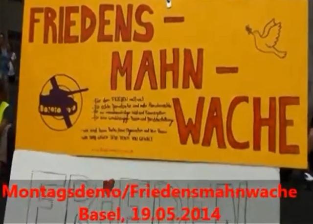 Friedensmahnwache Basel 20140519