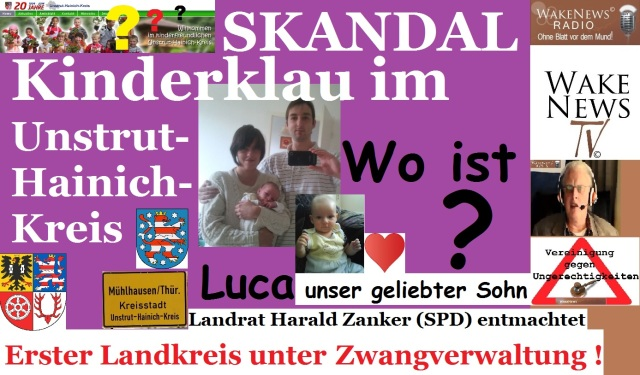 Kinderklau im Unstrut-Hainich - Kreis - Thüringen
