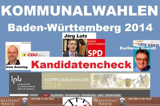 Kommunalwahl Baden-Württemberg 2014 - Kandidatencheck