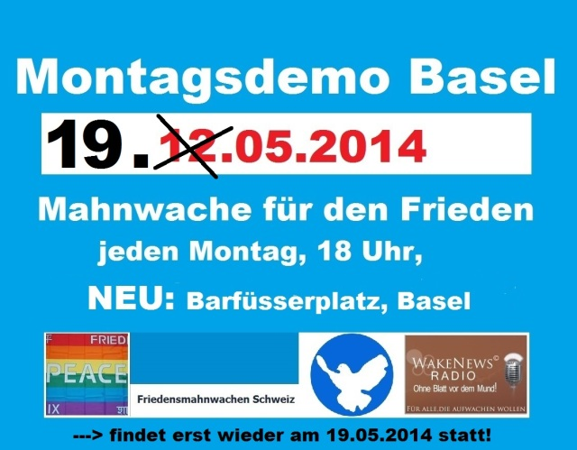 Montagsdemo Logo Schweiz Basel 20140512 rev