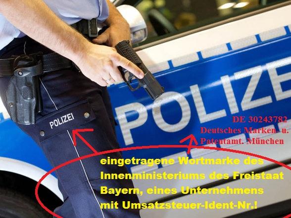 Polizei Wortmarke