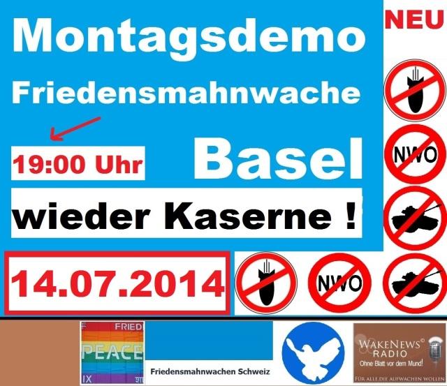 14.07.2014 Friedensmahnwache Basel