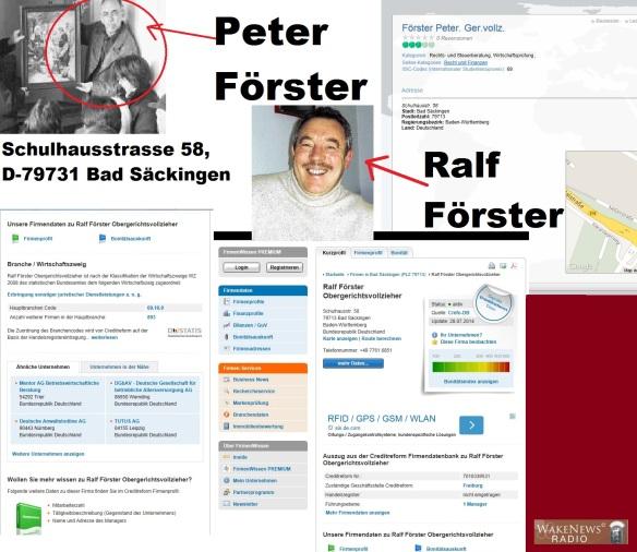 Fa. Peter + Ralf Förster Bad Säckingen juristische Dienstleistungen