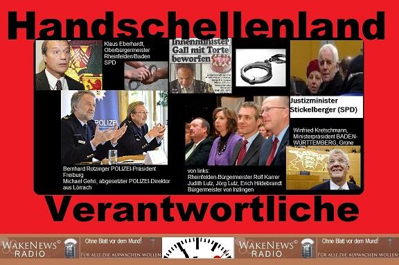 Handschellenland-Verantwortliche sm