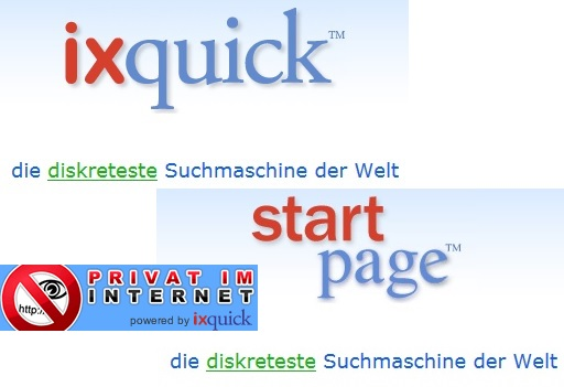 Ixquick - Privat im Internet