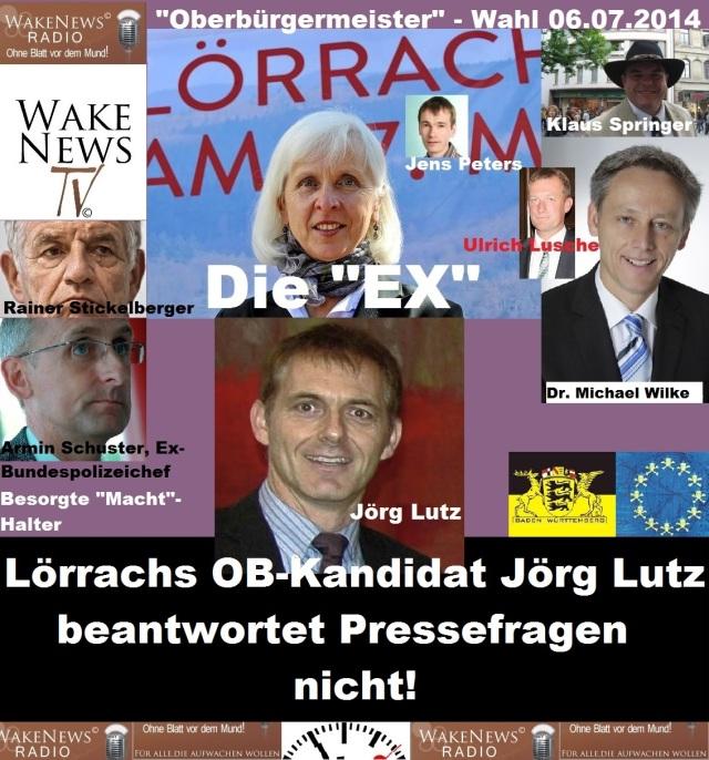 Lörrachs OB-Kandidat Jörg Lutz beantwortet kritische Presseanfragen nicht neu