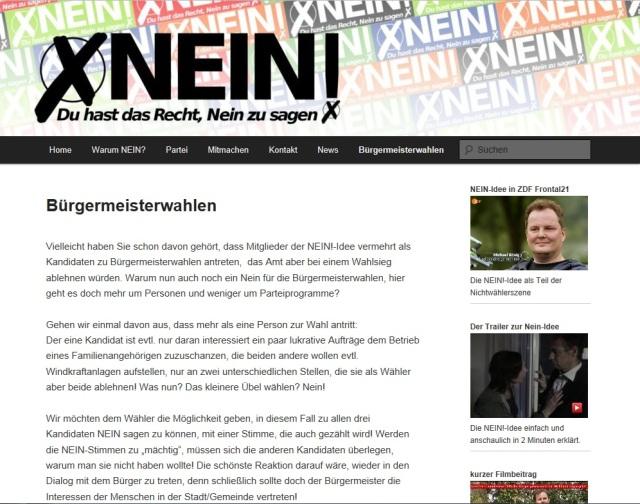 NEIN-Partei Screenshot 20140716