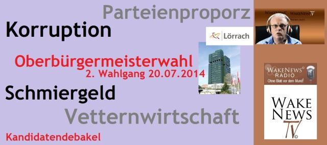Oberbürgermeisterwahl Lörrach Kandidatendebakel