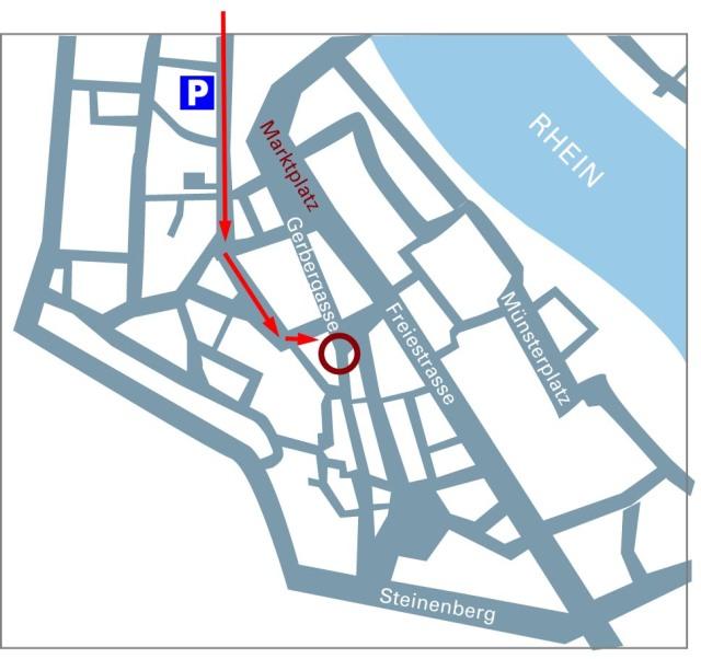 anfahrtskizze Unternehmen Mitte