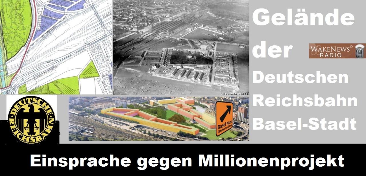 Einsprache gegen Millioneprojekt Basel-Stadt Deutsche Reichsbahn