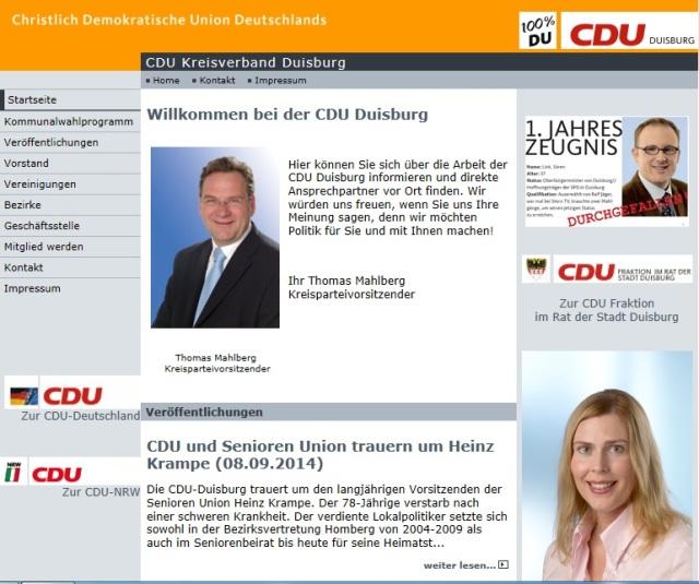 CDU Kreisverband Duisburg