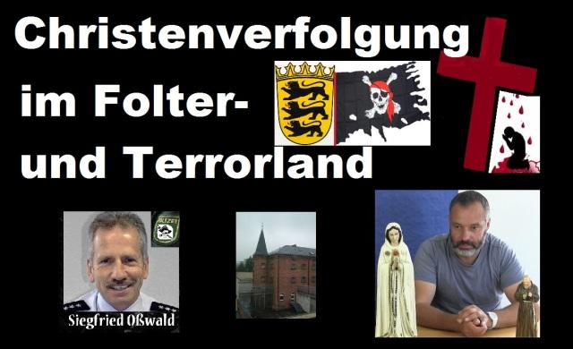 Christenverfolgung im Folter- und Terrorland