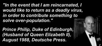 Prince Philip Virus Quote