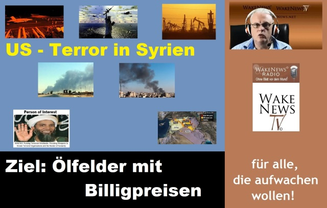 US-Terror in Syrien - Ziel zu billige Ölproduktion