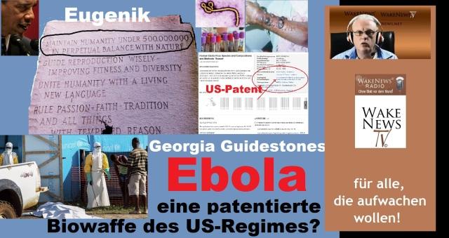 Ebola - eine patentierte Biowaffe des US-Regimes