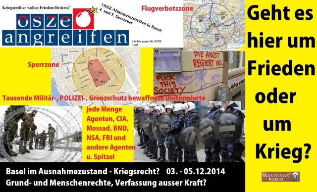 Der OSZE - Wahn in Basel