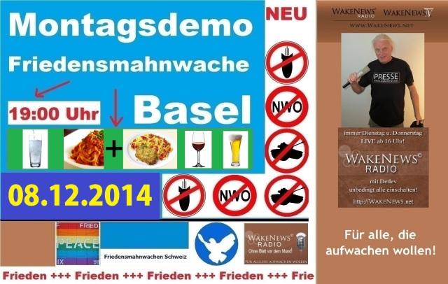 08.12.2014 Friedensmahnwache Basel