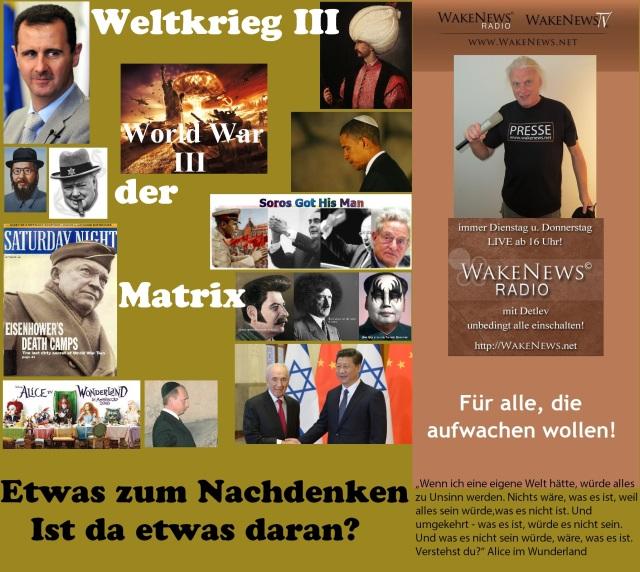 Weltkrieg III der Matrix