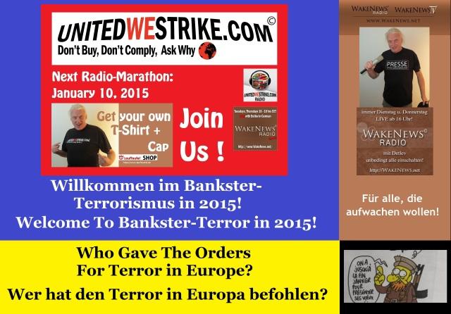 Bankster-Terror 2015 - Who Gave The Orders - UWS Radio-Marathon 20150110