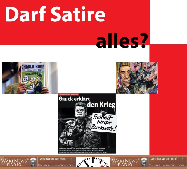 Darf Satire alles