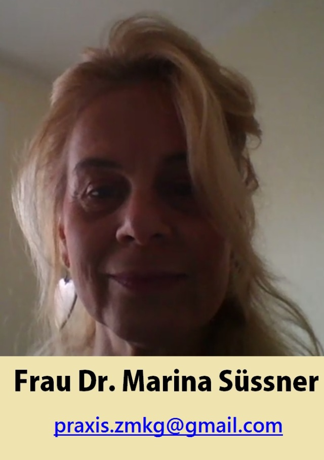 Frau Dr. Marina Süssner Portrait mit Email