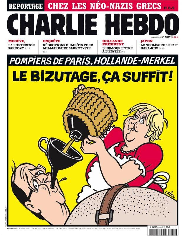 Hebdo Merkel Hollande