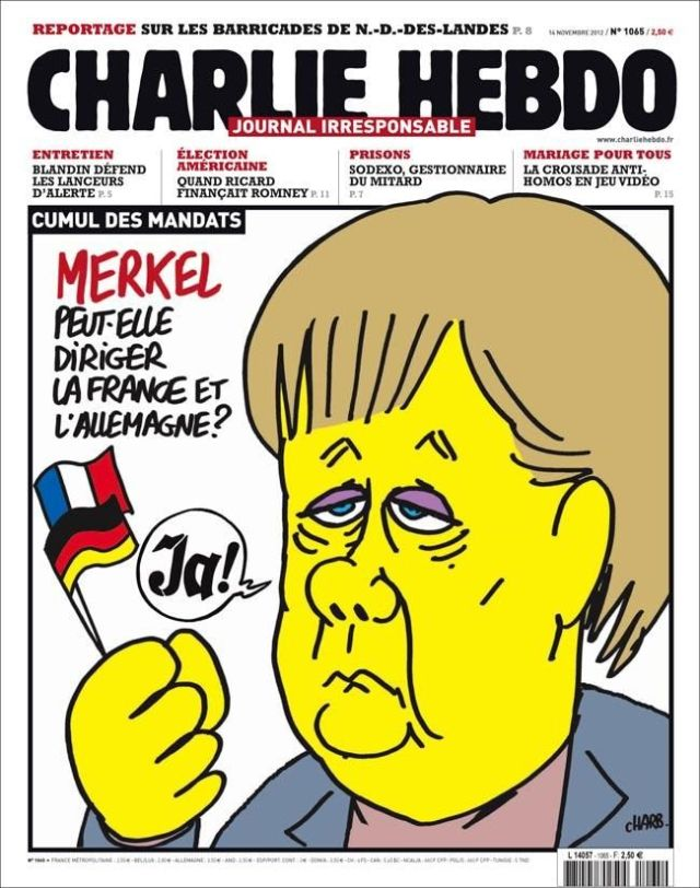 Hebdo Merkel Tyrannin