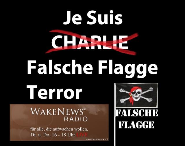 Je Suis Falsche Flagge Terror
