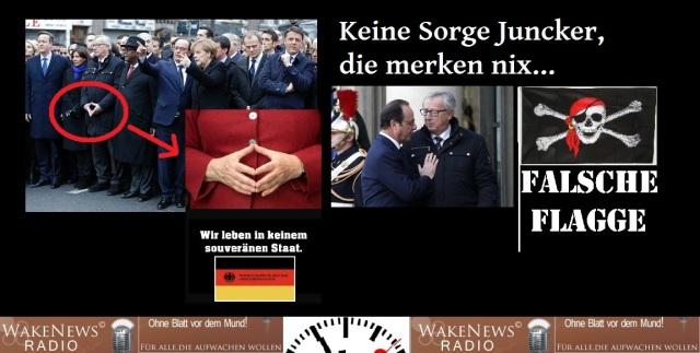 Keine Sorge Juncker die merken nix