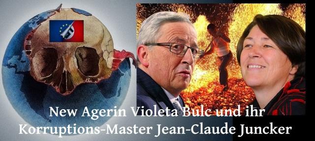 New Agerin Violeta Bulc und ihr Korruptions-Master Jean-Claude Juncker