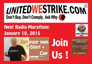 Next UWS Radio-Marathon Jan 10 2015