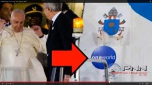 NWO Papst Flieger