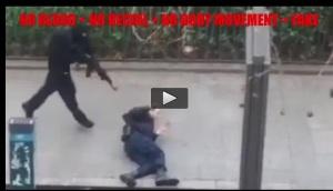 Paris Fake Shooting