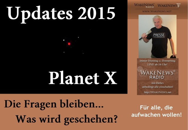 Updates 2015 - Planet X