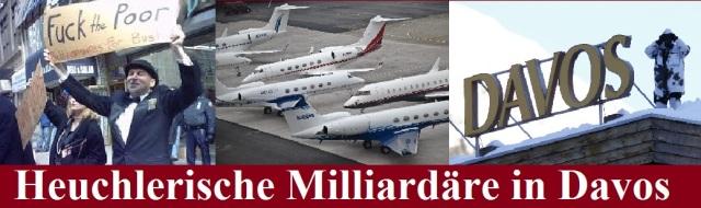 Heuchlerische Milliardäre in Davos