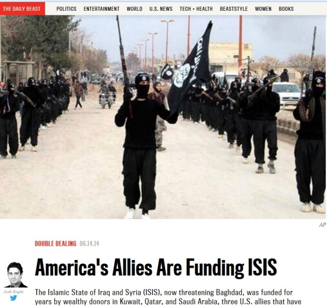 ISIS Financed By US + Allies