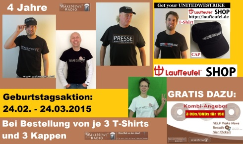 Wake News Radio Geburtstagsaktion 20150301