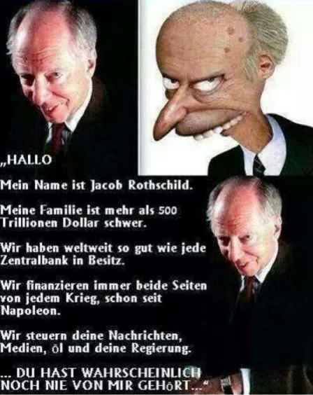 Jacob Rothschild Karikatur
