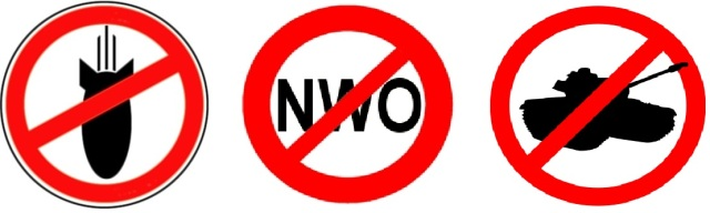 No Bombs No NWO No Tanks sidebar