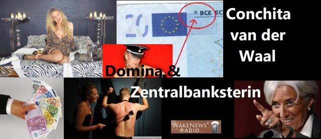 Conchita van der Waal - Domina + Zentralbanksterin