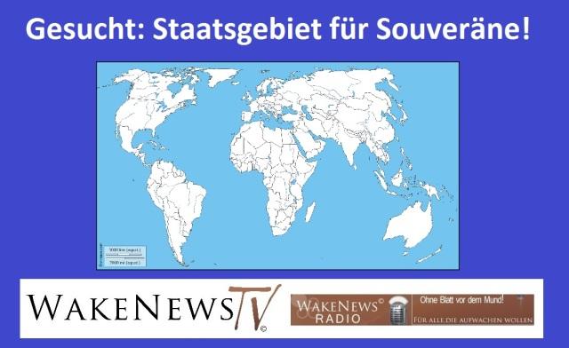 Gesucht - Staatsgebiet für Souveräne