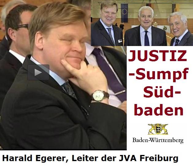 Justizsumpf Südbaden - Harald Egerer