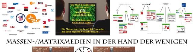 Massen- Matrixmedien in der Hand der Wenigen