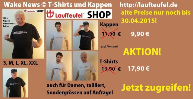 WN Shirts + Kappen neue Preise Aktion 30.04.2015