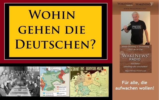 Wohin gehen die Deutschen