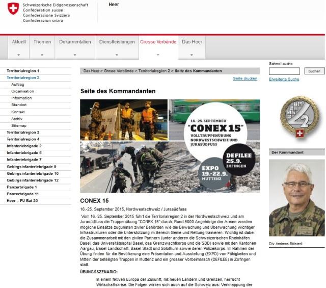 CONEX 15 16.-25. September 2015 Nordwestschweiz, Jurasüdfuss