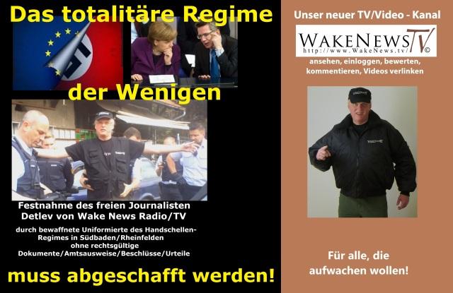 Das totalitäre Regime der Wenigen muss abgeschafft werden - Wake News Radio TV