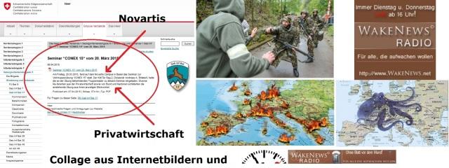 Schweizer Militär und Konzerne bereiten sich auf EU-Unruhen vor