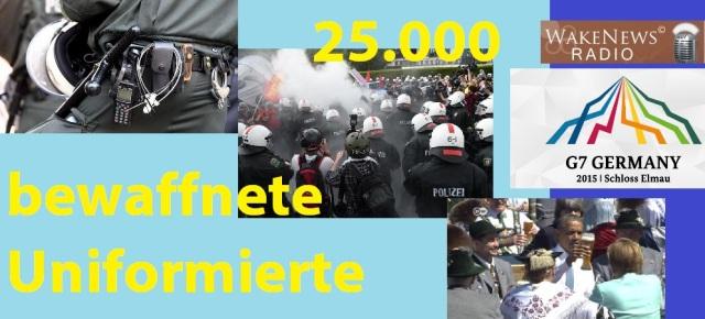 25.000 bewaffnete Uniformierte G-z 2015